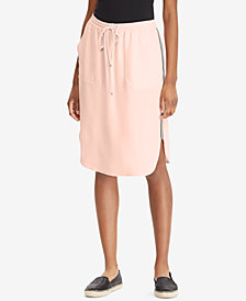 Lauren Ralph Lauren Crepe Skirt