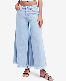 Free People Pirouette Wide Leg Jeans