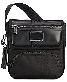 Tumi Men's Alpha Bravo Barton Crossbody Bag