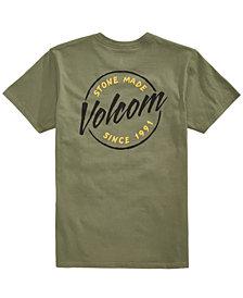 Volcom Men's Script Slash Logo T-Shirt, Created for Macy's