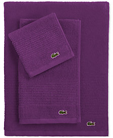 "Lacoste Legend 35"" x 70"" Supima Cotton Bath Sheet"