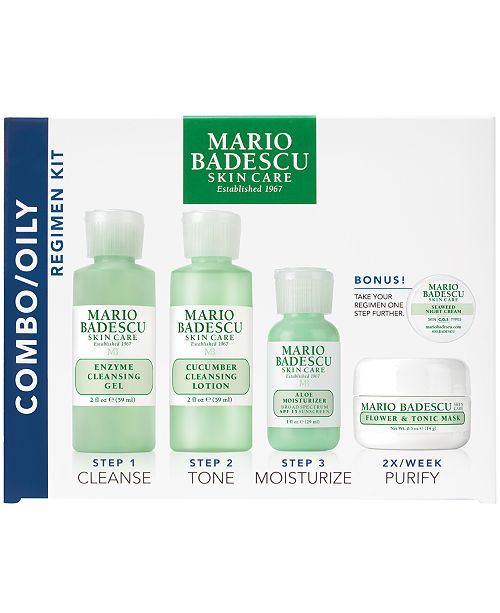 Mario Badescu 5-Pc. Combo/Oily Regimen Set