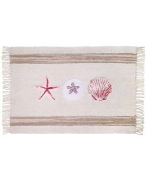 Avanti Coronado Cotton 20 x 30 Embroidered Bath Rug Bedding