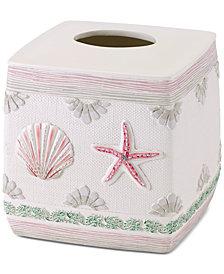 Avanti Coronado Hand-Painted Tissue Cover