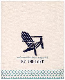 Avanti Lake Life Cotton Embroidered Bath Towel