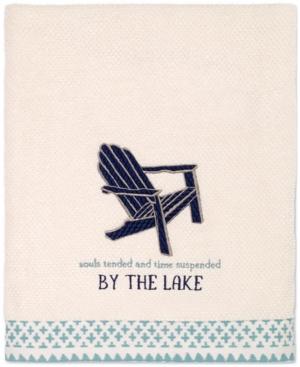 Avanti Lake Life Cotton Embroidered Bath Towel Bedding