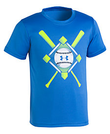 Under Armour Baseball-Print T-Shirt, Toddler Boys