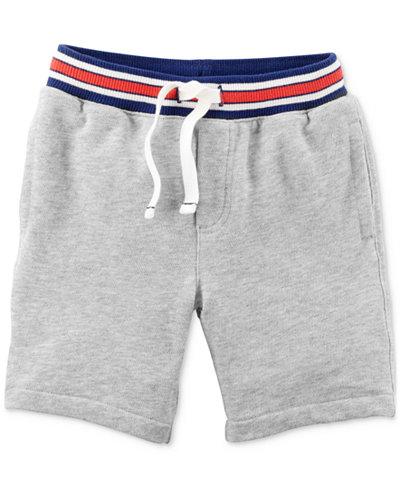 Carter's Striped Waist Cotton Shorts, Little Boys