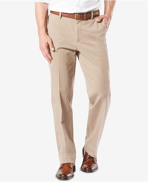 3ef2d76ace12ae ... Dockers Men's Workday Smart 360 Flex Classic Fit Khaki Stretch Pants ...