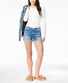 Hudson Jeans Valeri Cutoff Denim Shorts