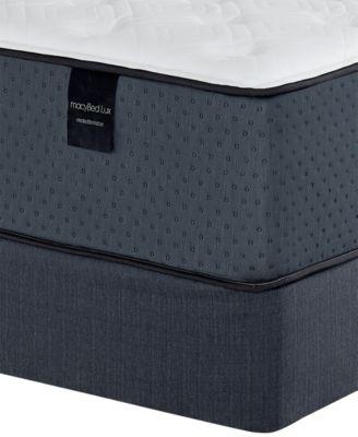"Baxter 13.5"" Plush Hybrid Mattress Set - Twin, Created for Macy's"