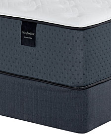 "MacyBed Lux Baxter 13.5"" Plush Hybrid Mattress Set - Twin, Created for Macy's"