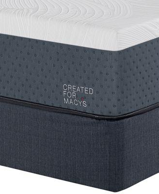 "Greenbriar 12"" Firm Memory Foam Mattress Set - Twin, Created for Macy's"