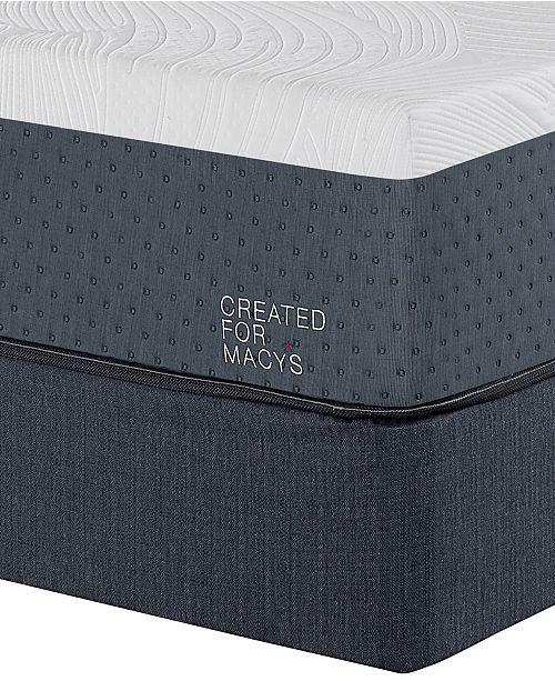 release date 50793 63226 Greenbriar 12 Firm Memory Foam Mattress Set - Twin, Created for Macy's
