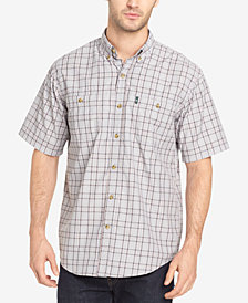 G.H. Bass & Co. Men's Explorer Fancies Yarn-Dyed Plaid Performance Shirt