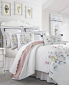 Piper & Wright Betsy White 4-Pc. California King Comforter Set