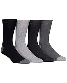 Men's Heel Toe Socks 4-Pack