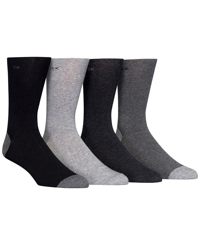 Calvin Klein - Men's Heel Toe Socks 4-Pack
