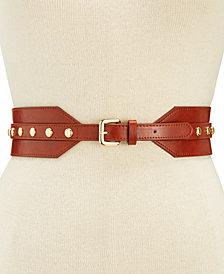 I.N.C. Stud Stretch Belt, Created for Macy's