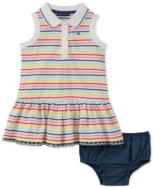 a855198606ca Tommy Hilfiger Striped Collared Dress