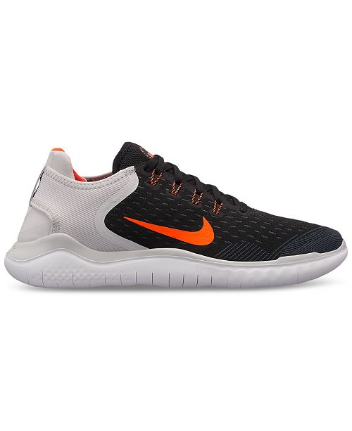 0201f2b30f2da Nike Men s Free Run 2018 Running Sneakers from Finish Line   Reviews ...
