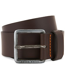 BOSS Men's Jeeko Casual Leather Belt