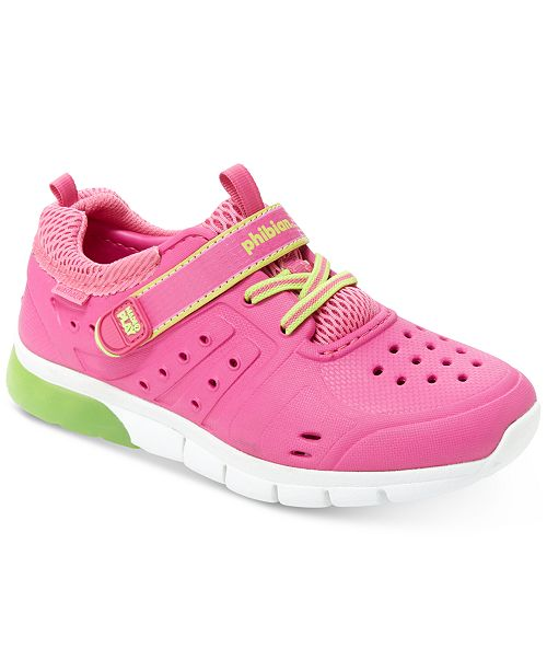 Stride Rite Made2Play Phibian Light-Up Water Shoes, Toddler Girls