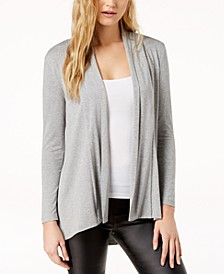 Open-Front High-Low Cardigan