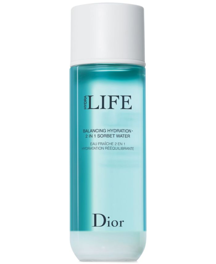 Dior Hydra Life Balancing Hydration 2-In-1 Sorbet Water, 5.9 oz & Reviews - Skin Care - Beauty - Macy's