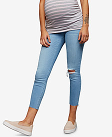 A Pea in the Pod Maternity Cropped Skinny Jeans