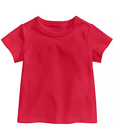 First Impressions Cotton T-Shirt, Baby Girls or Baby Boys, Created for Macy's