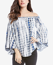 Karen Kane Printed Off-The-Shoulder Top