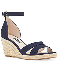 Nine West Jeranna Wedge Sandals