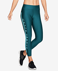Under Armour HeatGear® Logo Compression Cropped Leggings