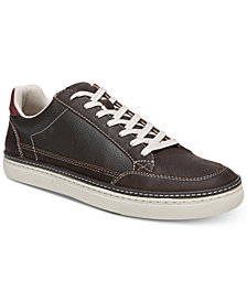Dr. Scholl's Men's Trent II Lace-Up Leather Sneakers