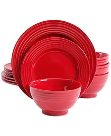 Plaza Café 12-Pc. Dinnerware Set, Service for 4