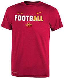 Nike Iowa State Cyclones Legend Football T-Shirt, Big Boys (8-20)