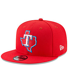 New Era Texas Rangers Players Weekend 9FIFTY Snapback Cap
