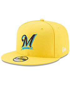 New Era Milwaukee Brewers Players Weekend 9FIFTY Snapback Cap