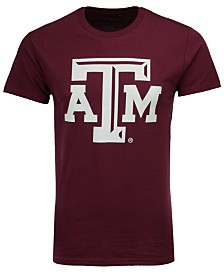 New Agenda Men's Texas A&M Aggies Big Logo T-Shirt