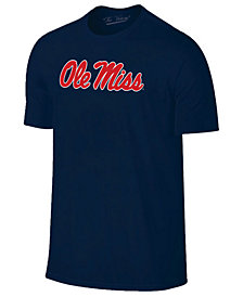 New Agenda Men's Ole Miss Rebels Big Logo T-Shirt