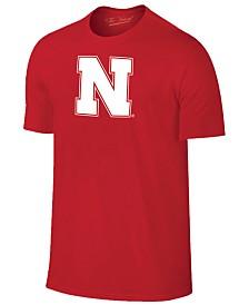 New Agenda Men's Nebraska Cornhuskers Big Logo T-Shirt