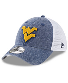 New Era West Virginia Mountaineers Washed Neo 39THIRTY Cap