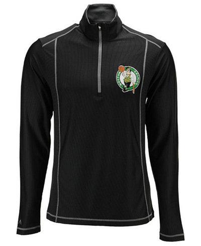 Antigua Men's Boston Celtics Tempo Half-Zip Pullover