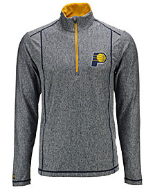 Antigua Men's Indiana Pacers Tempo Half-Zip Pullover