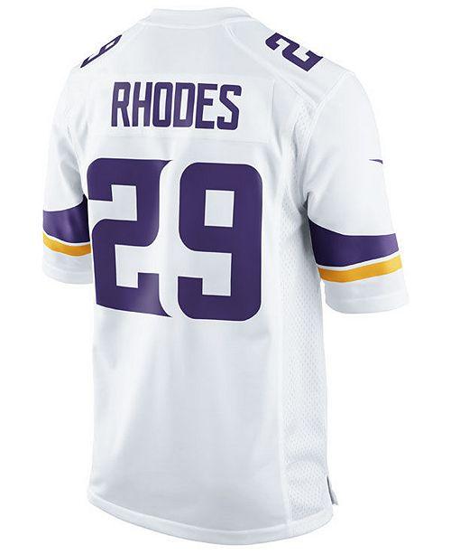 Nike Men's Xavier Rhodes Minnesota Vikings Game Jersey