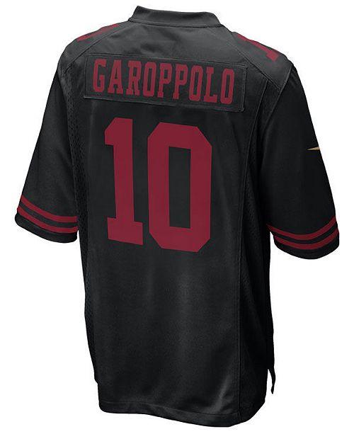 Nike Men's Jimmy Garoppolo San Francisco 49ers Game Jersey & Reviews
