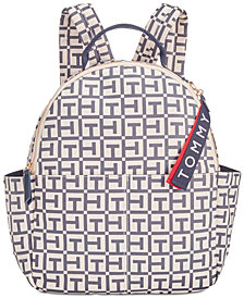 Tommy Hilfiger Classic Tommy Logo Canvas Backpack