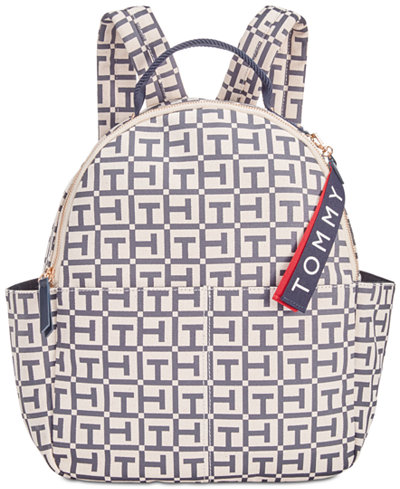 Tommy Hilfiger Classic Tommy Logo Canvas Medium Backpack