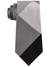 Kenneth Cole Reaction Men's Tom Plaid Silk Tie